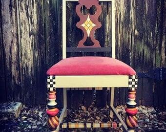McKenzie styled dinning chair