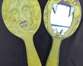 Medusa Hand Mirror