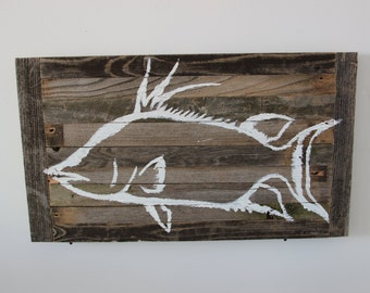 Reclaimed Wood Hog Snapper