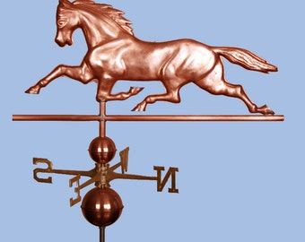 Copper Horse Weathervane BH-WS-426