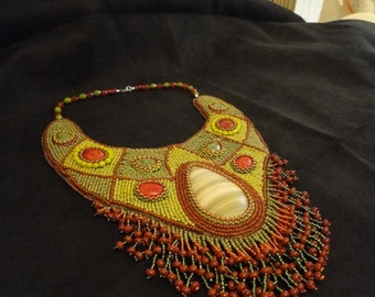 necklace stone age