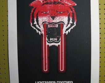 Lightsaber Toothed Tiger