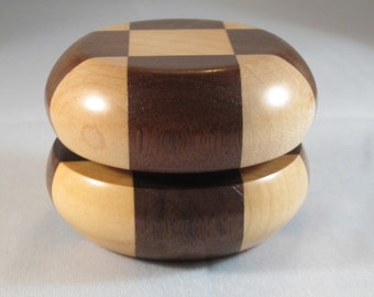 Amish Handcrafted Wooden YoYo Solid WALNUT/MAPLE Wood