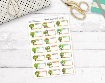 Play Date Planner Stickers - #B36