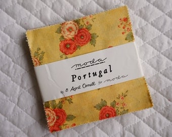 Portugal - Charm Pack - 40 Pieces - April Cornell - Moda Fabric