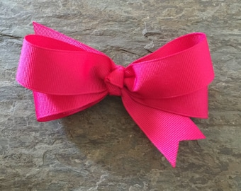 The Bella Bow - Shocking Pink
