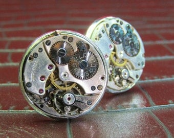 LANCO Vintage Watch Movement Cufflinks