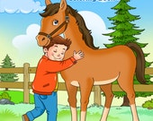 Hooray for Horses Coloring Book