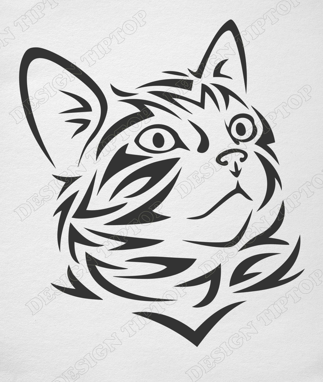 cat svg file  kitten svg  png  eps  cat clipart  cat vector  kitty svg  cricut design  cat
