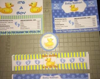 Candy Bar Wrapper, Duck