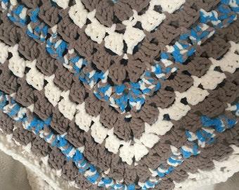 Super Soft Crocheted Baby Blanket