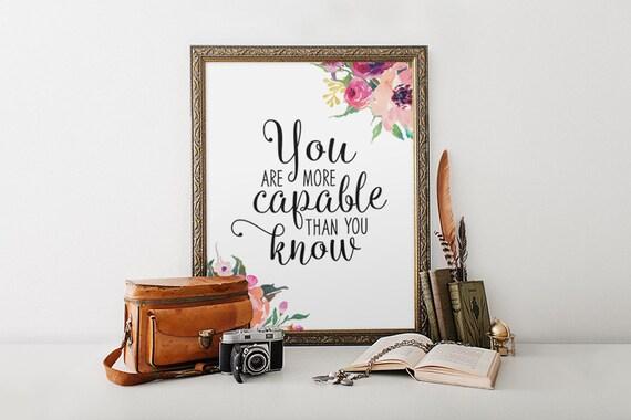 Motivational Print