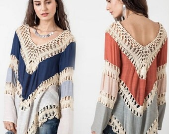 The Casabella Knit Tunic Top