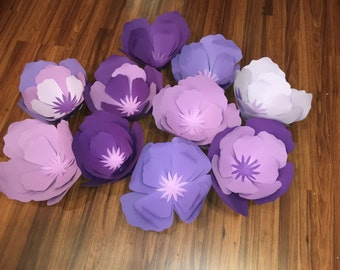 Large/Giant Paper Flowers