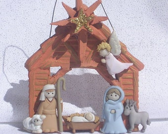 6-Piece Stable Nativity