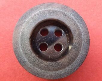 10 dark brown BUTTONS 18mm (124) button Brown