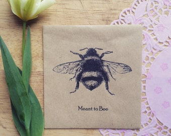 Wildflower Seed Favour Meant to Bee