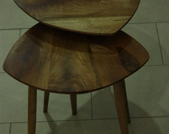Full wood side tables