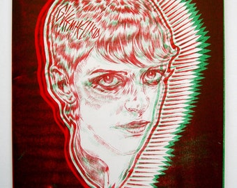 Skinhead Illustrative Print