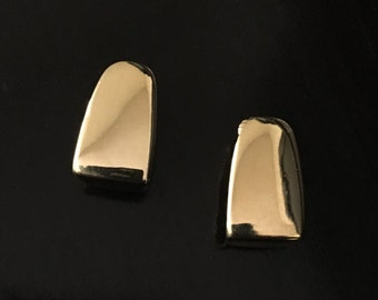 Vintage Gold Earrings Collection 1950's