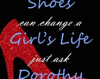 One Pair of Shoes Dorothy