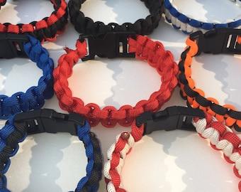 550 Survival Paracord Bracelet