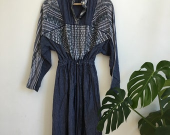 Indian Cotton Ikat Dress