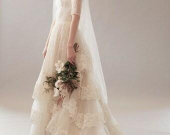 Original Vintage Wedding Dress - Marissa