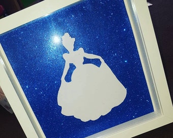 Disney Silhouette Box Frames