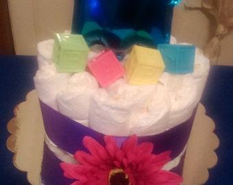 Diaper Cake Centerpieces/Small Diaper cakes