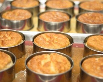 "Gluten-Free Focaccia bread - 4"" rounds - (4 per pack)"