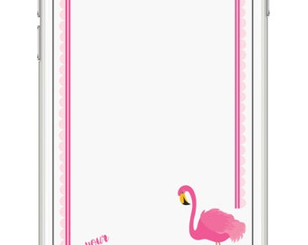 FLAMINGO SNAPCHAT GEOFILTER // Customized for your occasion! Perfect gift!