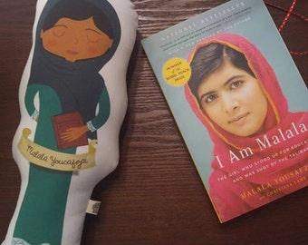 Feminist Plush Malala Yousafzai