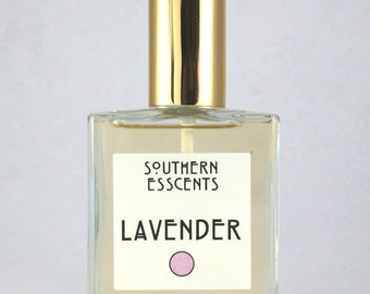 Lavender Perfume - made of essential oils extracted from fresh flowers, its has floral, sweet and herbal notes with a balsamic undertone.