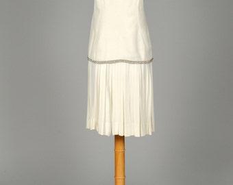 1970 Silk Crepe Vintage Wedding Dress