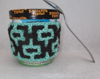 Mint Chocolate Chip Pint Cozy - Reversible