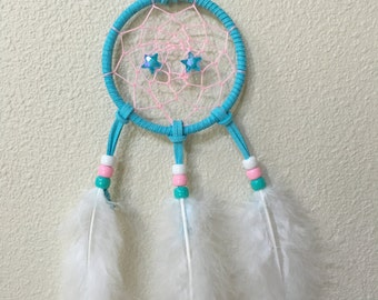 Dream Catcher- Blue~ color of trust and peace