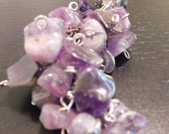 Key Chain Handmade purple