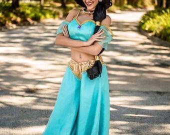 Princess Jasmine Cosplay Halloween costume