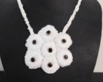 statement necklace, bib necklace, handmade necklace, best bib & tucker
