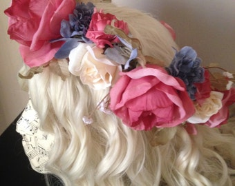 Vintage Rose Crown