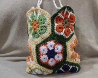 Crochet Purse Floral