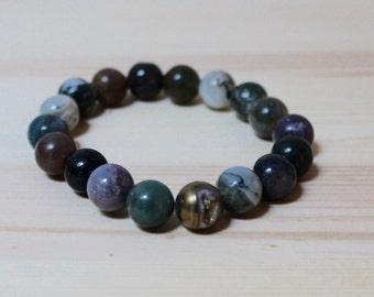 Cruces: Multicolor Beaded Bracelet