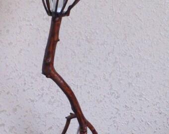 Running - Wooden Lamp