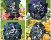 YARD SIGNS, Alice in Wonderland PRINTABLE Party Signs, yard decoration, scavenger hunt, Digital Download