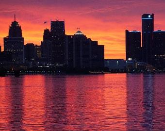 Detroit Sunrise