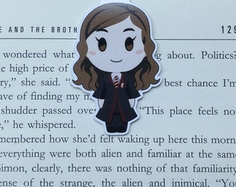 Hermione - Magnetic bookmark || harry potter | hogwarts | wizard | always | book lover gifts | bookmark | bookish | magnetic bookmarks
