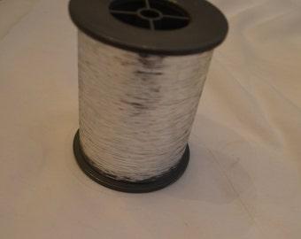 New Metallic Silver Vintage Lurex Knitting Yarn