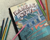 Color Me Kansas City. Kansas City Themed coloring book for all ages!