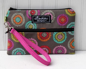 Josser Rio Multi Padded Wristlet Mini Purse